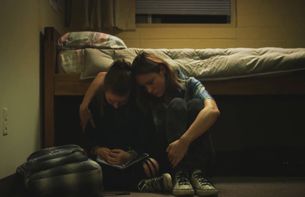 Jayden and Grace (played by  Kaitlyn Dever and Brie Larson) in Short Term 12