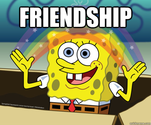 spongebob friendship