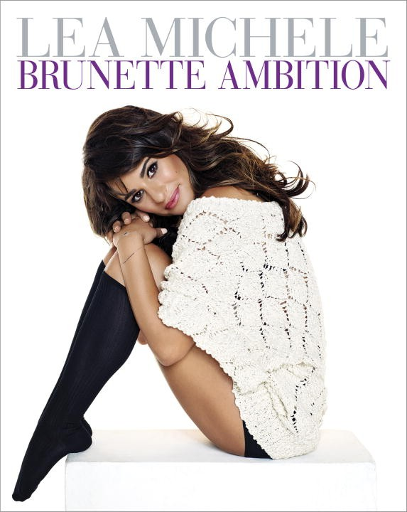 brunette ambition lea michele
