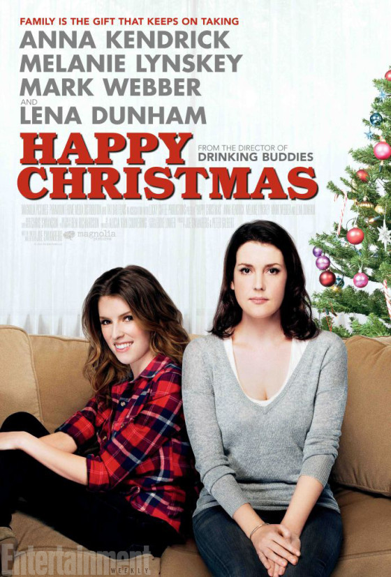 happy christmas movie poster