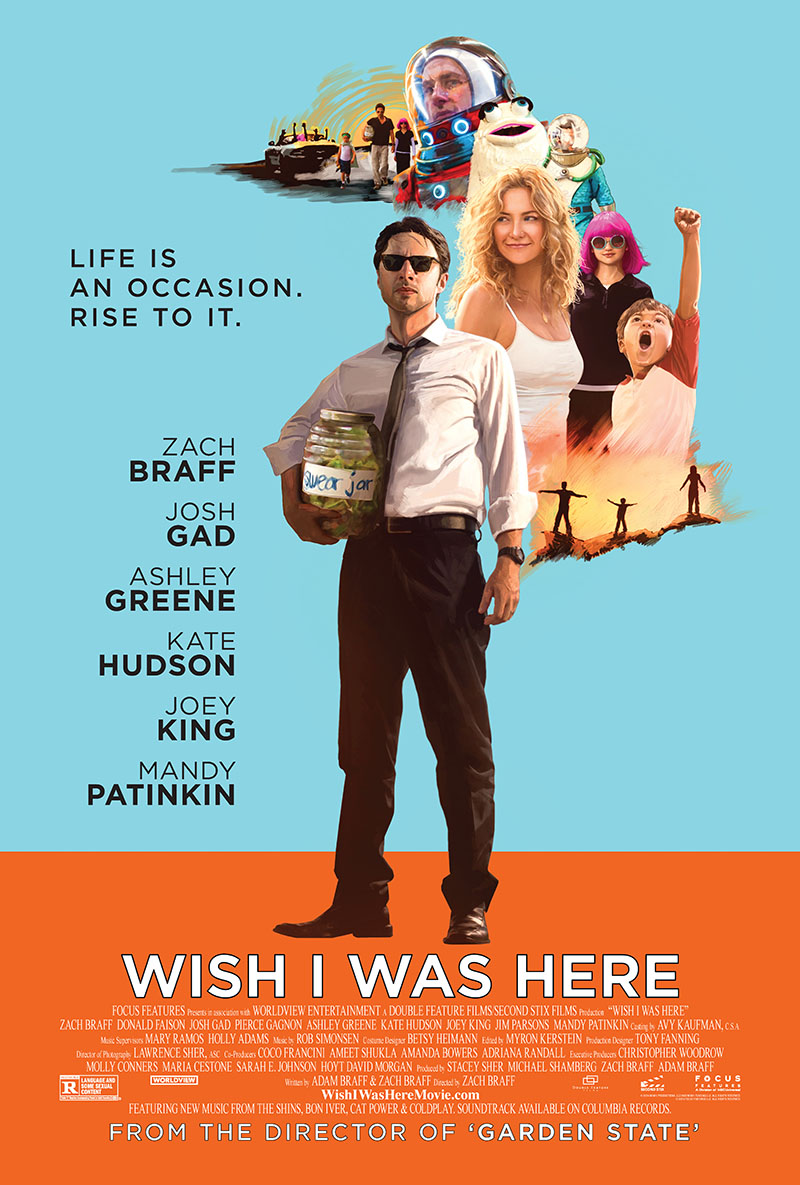 wish i was here new movie poster