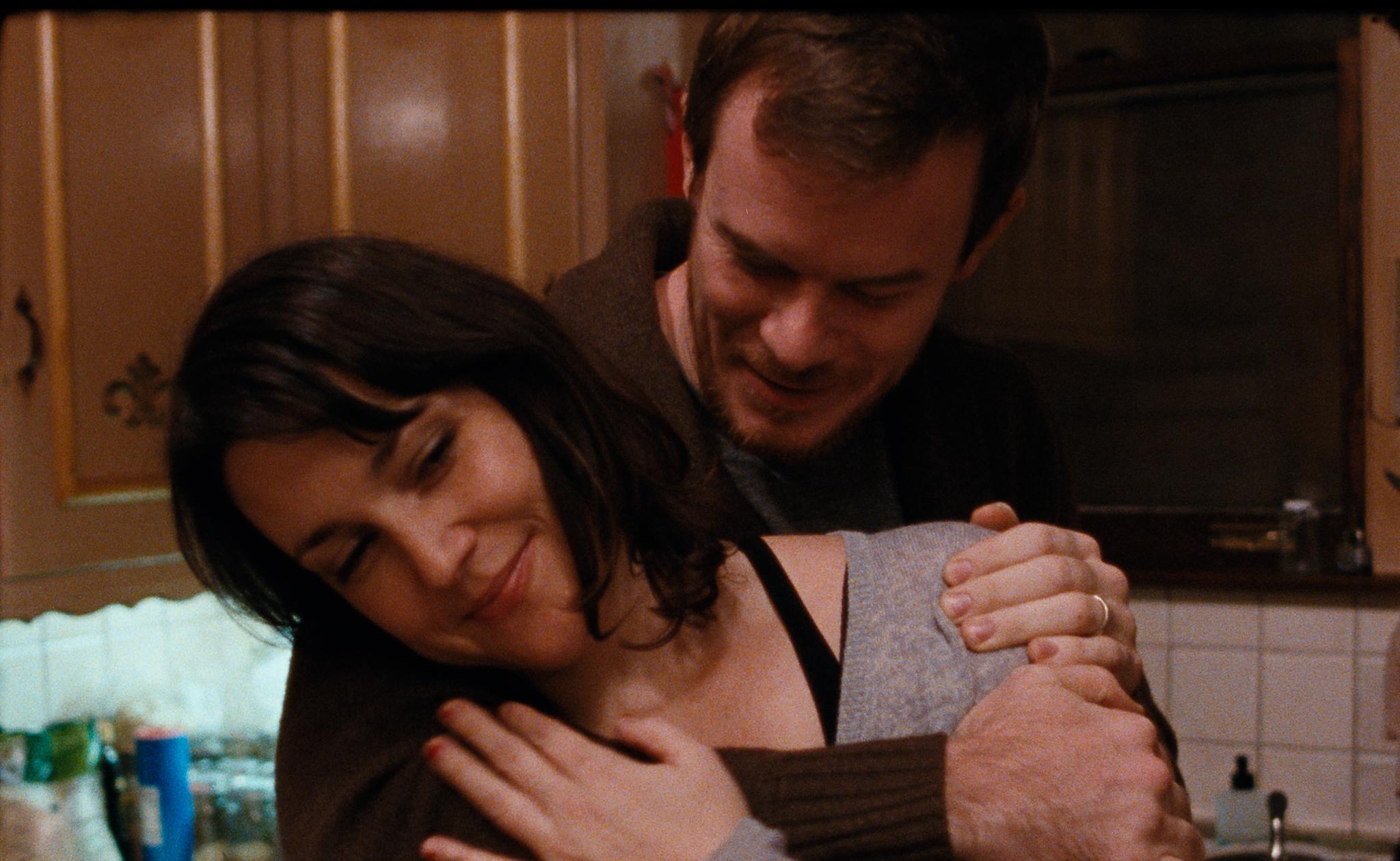 Melanie Lynskey and Joe Swanberg in HAPPY CHRISTMAS (Magnolia Pictures)