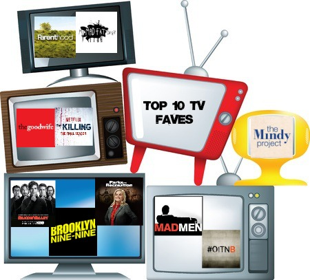 top 10 tv faves