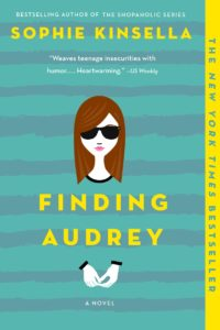 finding audrey paperback giveaway