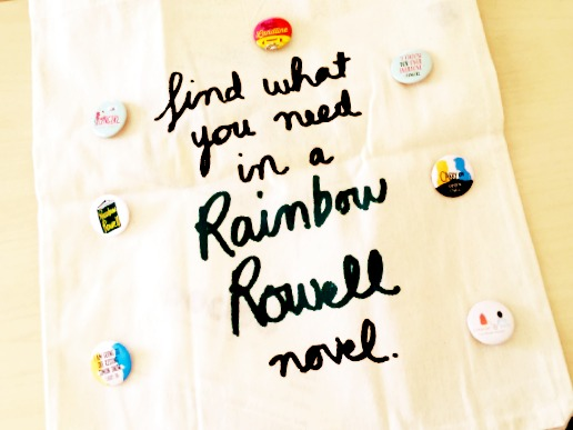 Mailbox Monday 183 Rainbow Rowell swag