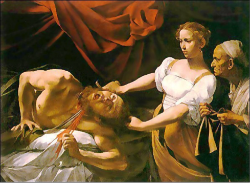judith beheading holofernes the next